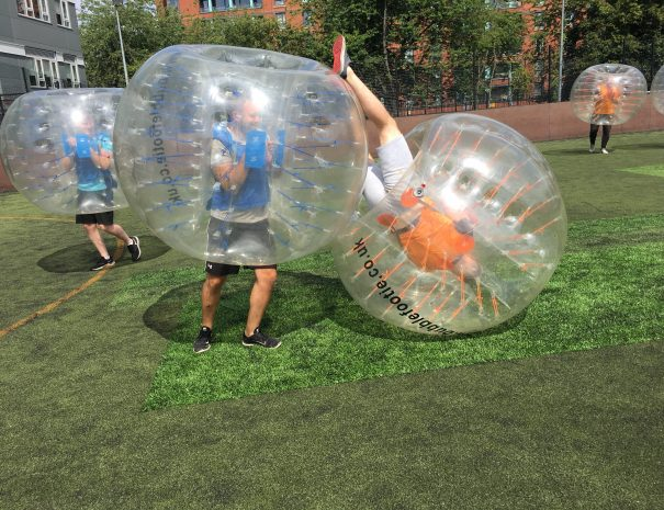 Stag and Hen Bubble football