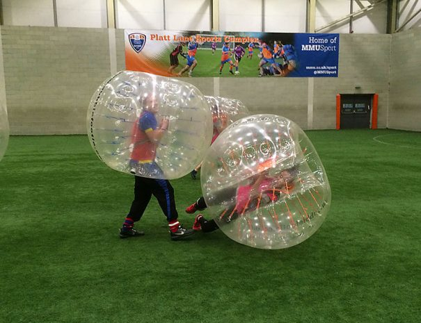 21st Birthday bubble Football Party in Manchester