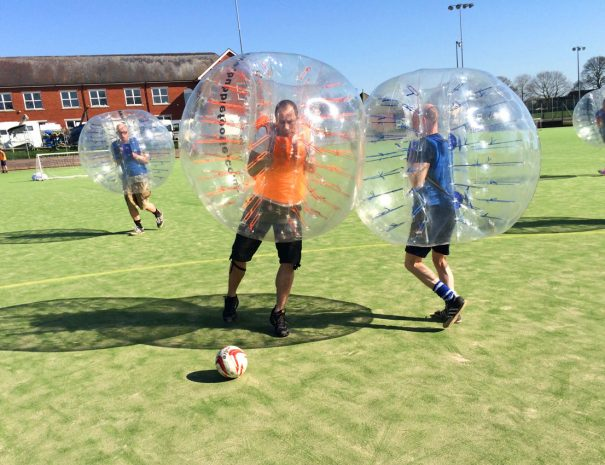 Cheshire Bubble Football