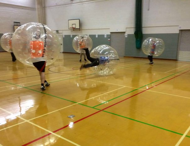 Corporate bubble Footie event in Manchester