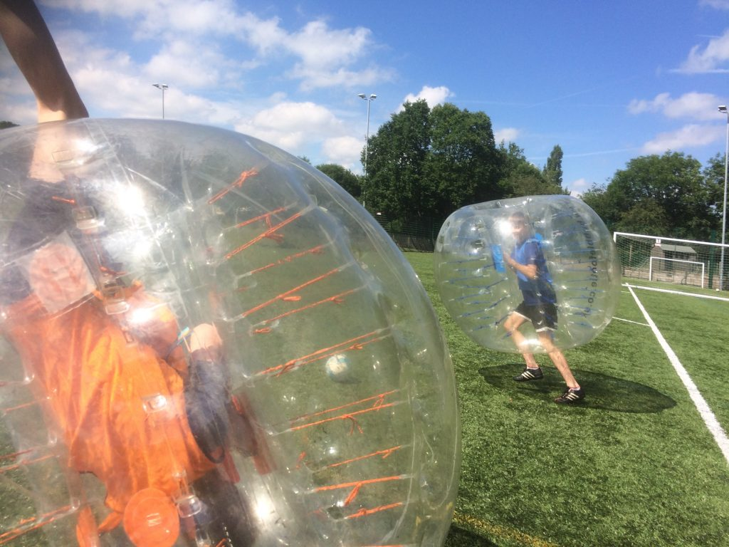 zorb football macclesfield