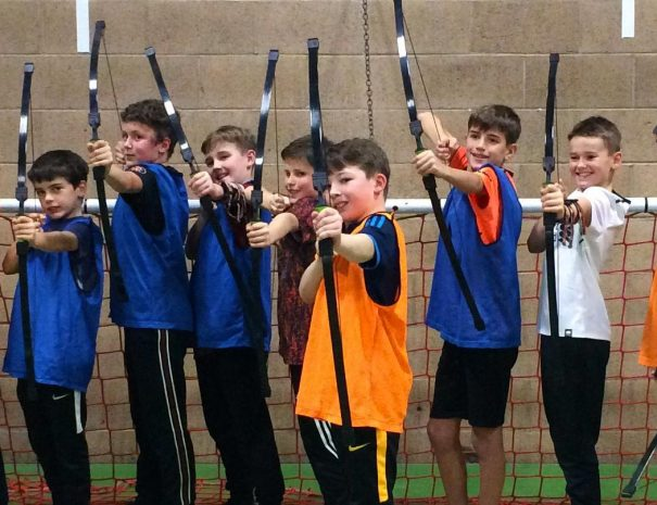 Tag-Archery-for-children