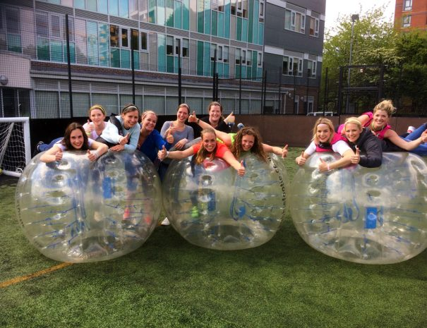 Bubble Football Hen party