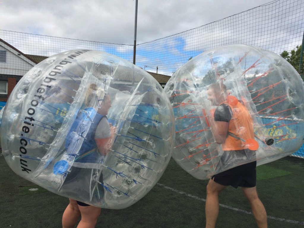 Bubble Football Staffordshire