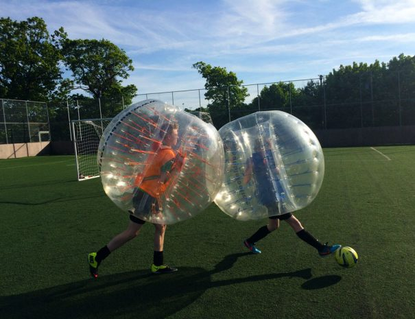Bubble football birthday parties