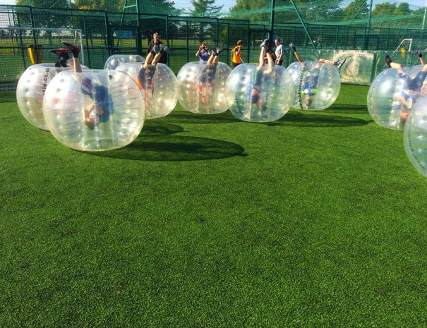 Bubble Football events