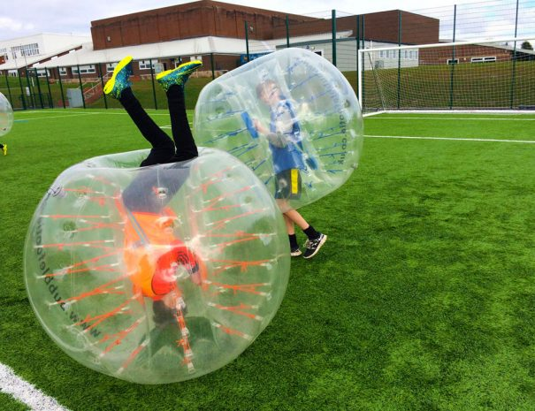Bubble Football Party