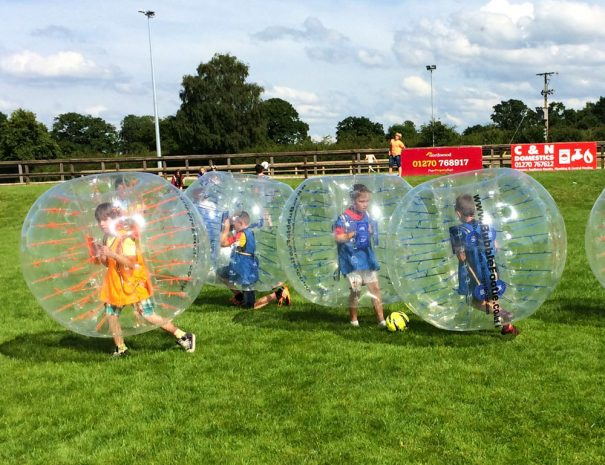 Bubble Football Sandbach