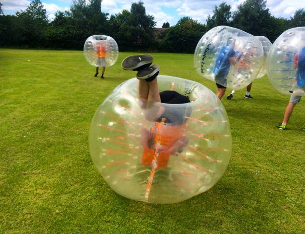 bubble football corporate events