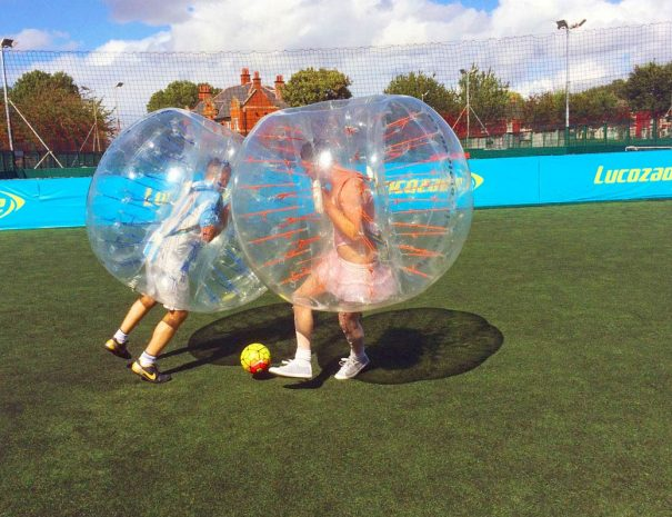 Bubble Football Stag party