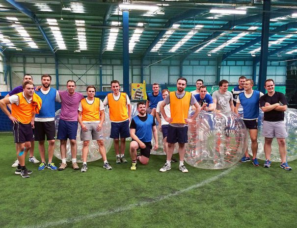 Bubble footie stag party