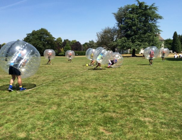 Zorb Football Corporate Event