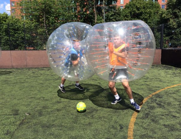 bubble football one on one stag
