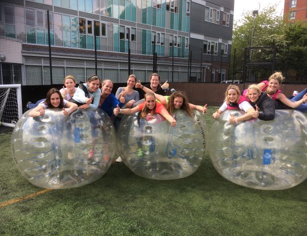 Hen Party Bubble Football