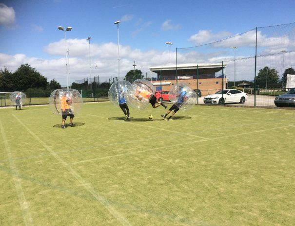 Chester Bubble Football