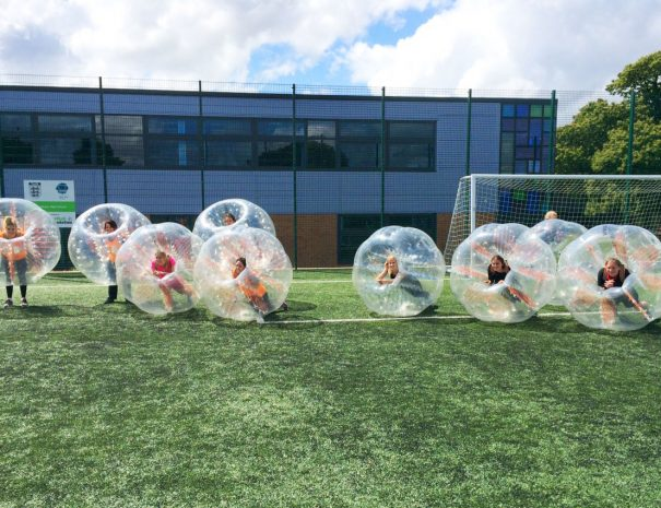 hen do zorb football