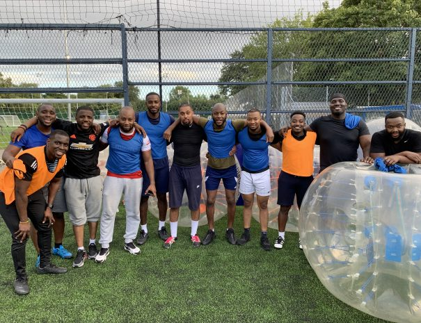 Stag Manchester Bubble football